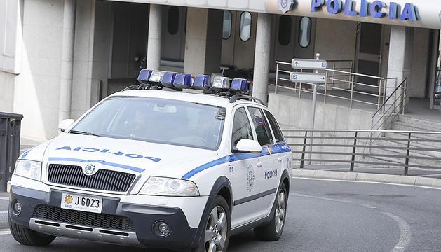 La seu de la policia d'Andorra, a Escaldes-Engordany.