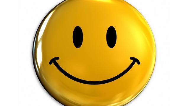 9. Somriure i ser positiu és bo per a la vida.