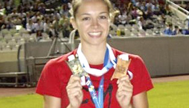L'entrenadora de gimnàtica rítmica Sofia Cortesao.