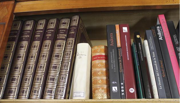 5. Tinc molts llibres, ja no sé on posar-los.