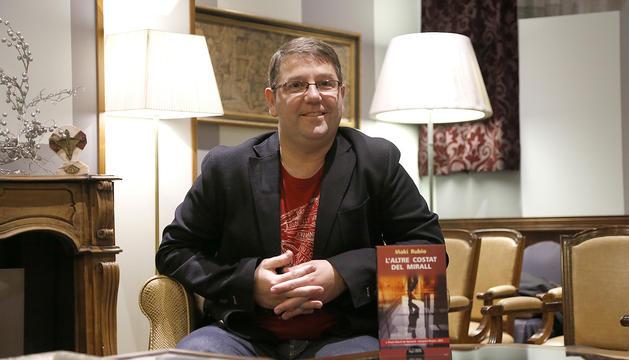 L'escriptor i docent Iñaki Rubio.