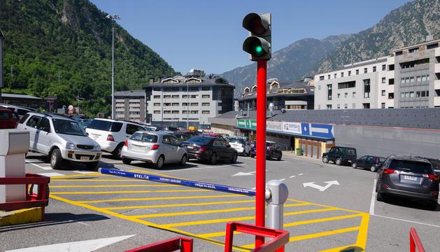 L'actual aparcament descobert del Fener.
