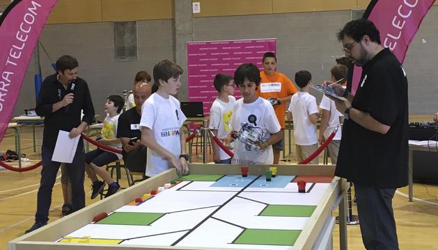 Participants en la prova final d'ahir a Ordino.