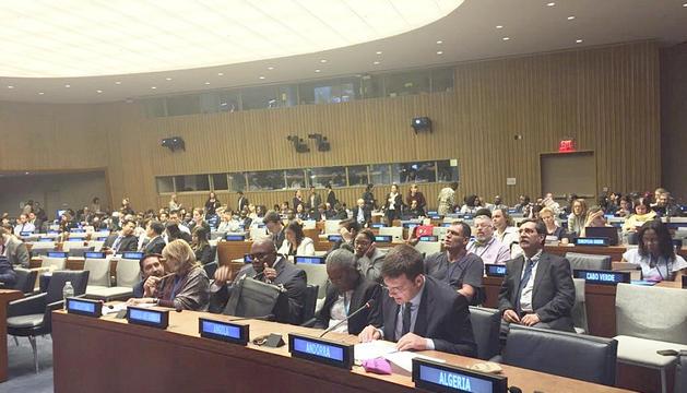 La conferència va tenir lloc a la seu de l'ONU de Nova York.