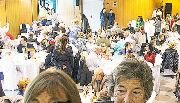 Padrines durant la darrera edició de la festa magna