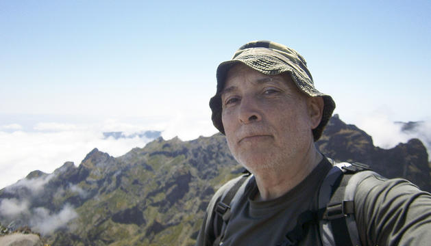 Guillem Fornieles en una excursió.