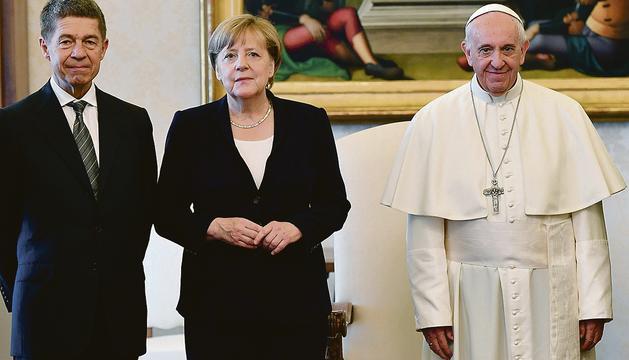 Merkel i el Papa van coincidir en la defensa del clima.