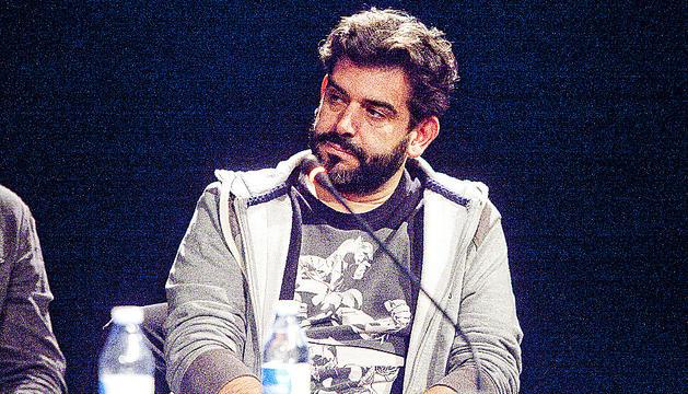 L'escriptor David Gálvez.