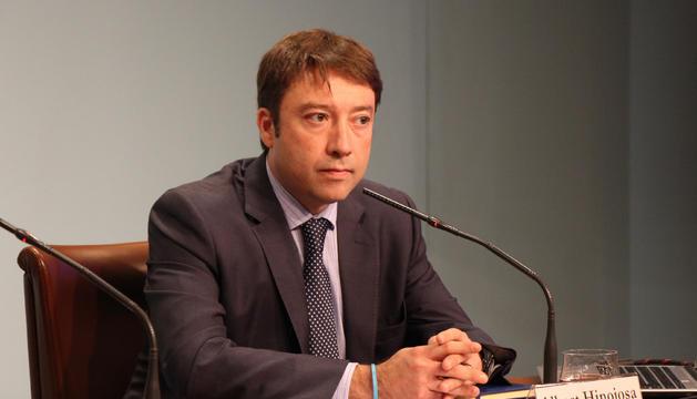 El director general de departament de Tributs i Fronteres, Albert Hinojosa.
