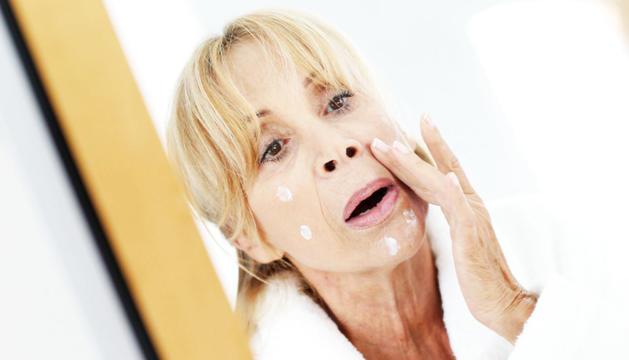 La menopausa produeix canvis a la pell.