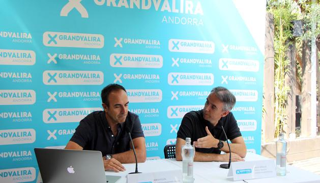 Jordi Pujol i David Hidalgo presenten les activitats d'estiu.