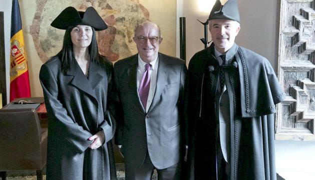 L'eurodiputat Santiago Fisas visita Casa de la Vall