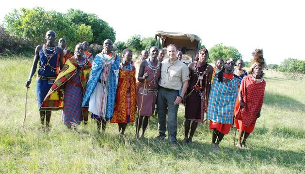 Miguel Ángel García a Kenya