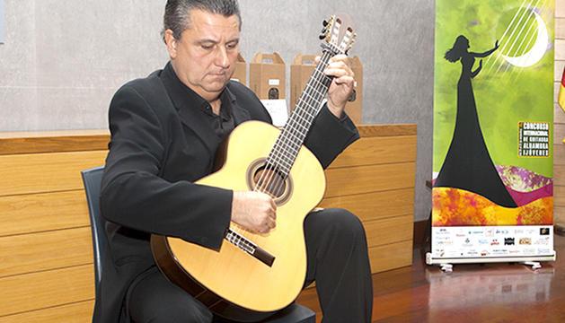 El protagonista del concert de dijous a Pal.