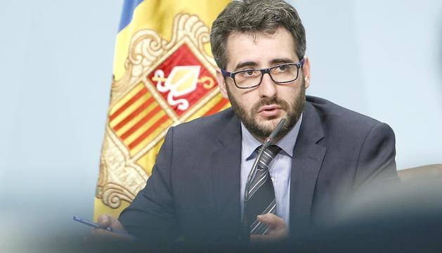 El ministre d'Educació, Èric Jover.