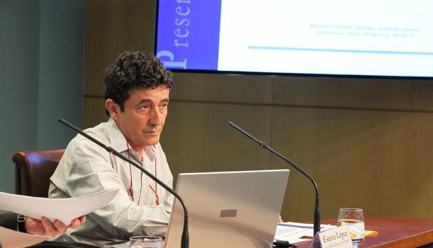 Esteve López, cap d'àrea d'Inspecció de Treball