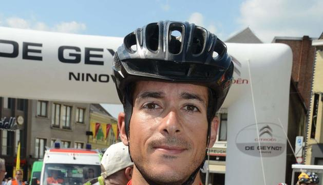 El ciclista Julio Pintado.