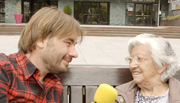 El Quim durant una de les entrevistes del programa dedicat a Andorra.