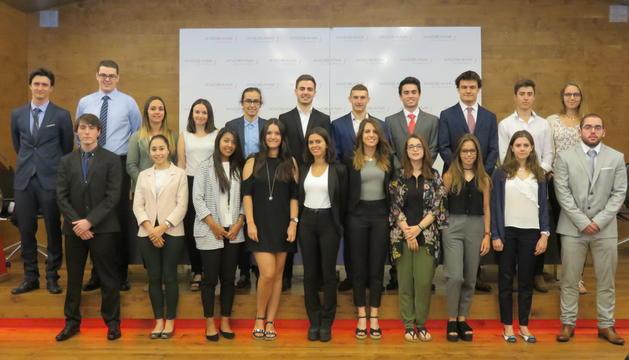 Els joves de l'Andbank Trainee Program