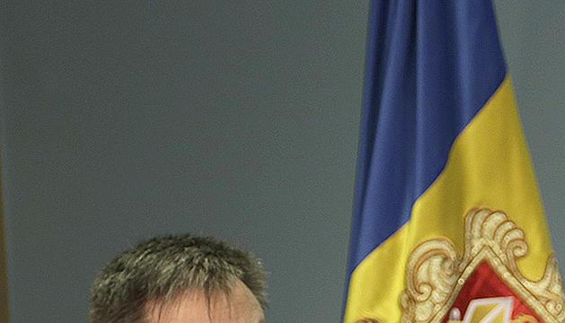 El ministre Gilbert Saboya.