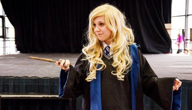 Carol Garrido disfressada d'Hermione