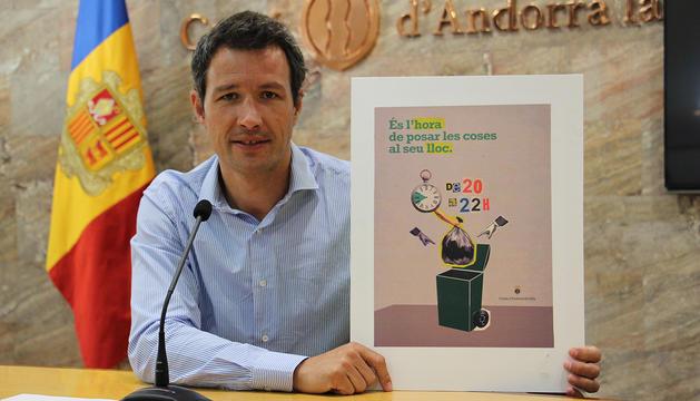 El conseller de Medi Ambient, David Astrié.
