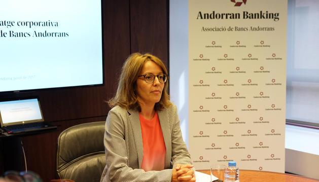 La presidenta de l'ABA, Esther Puigcercós