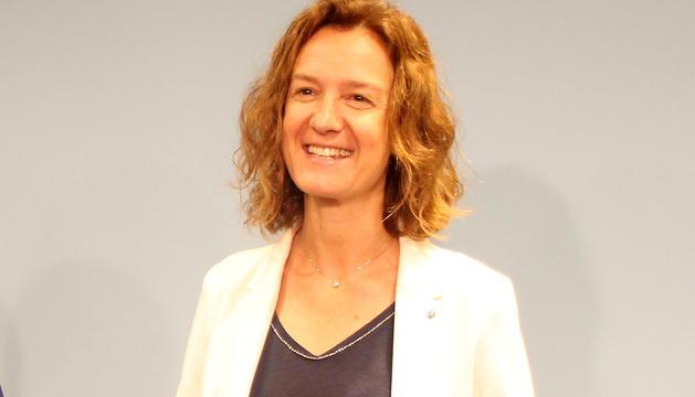 La ministra Sílvia Calvó en una imatge d'arxiu.