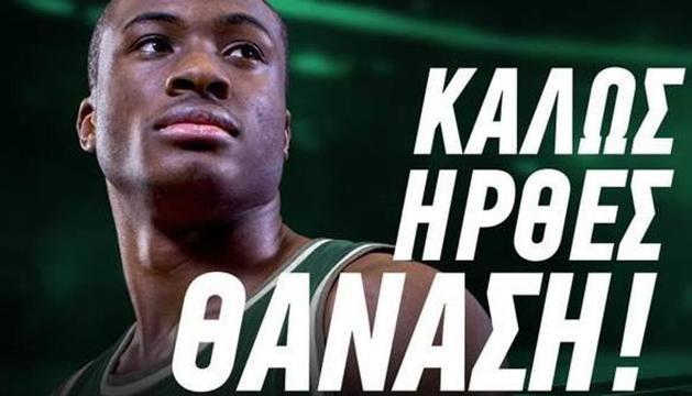 Panathinaikos ha fet oficial el fitxatge de Thanasis
