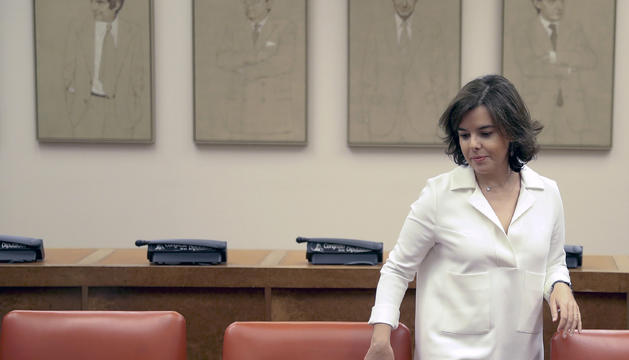 La vicepresidenta espanyola, Soraya Sáenz de Santamaría.