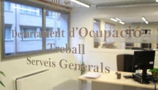 Oficines del Departament d'ocupació i treball