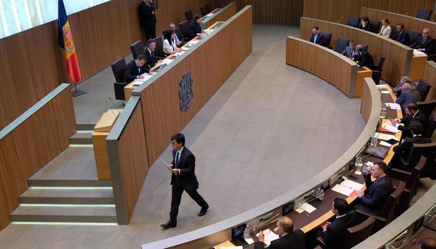 El ministre de Finances, Jordi Cinca, ha defensat la modificació legislativa.