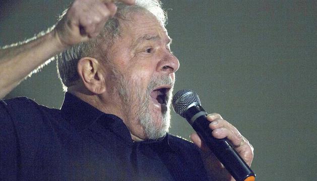 L'expresident del Brasil Inácio Lula da Silva.