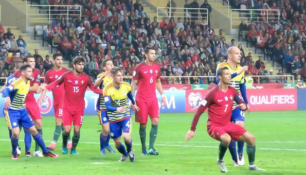 Partit entre Portugal i Andorra.
