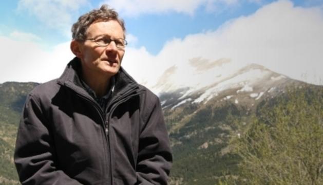 El director de cursa de l'Andorra Ultra Trail, Gérard Martínez.