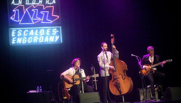 Madeleine Peyroux aixeca el jazz a Escaldes