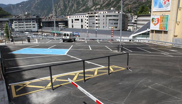 El nou aparcament d'Escaldes-Engordany.
