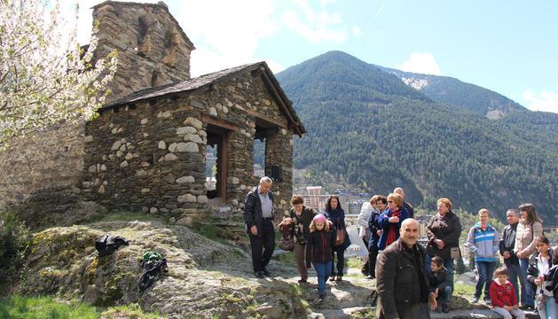 El patrimoni històric de Sant Romà de les Bons acollirà l'espectacle.