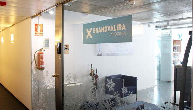 Les oficines de Grandvalira
