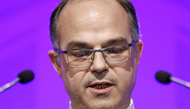 Jordi Turull, conseller de Presidència, és qui va presentar les denúncies.