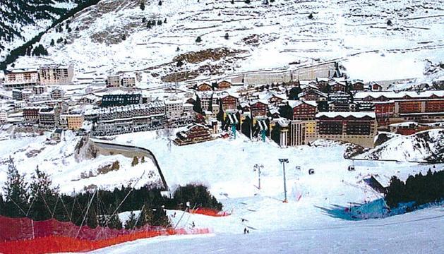 Una imatge de com quedarà la plataforma esquiable de Soldeu.