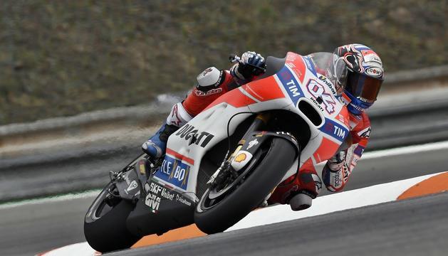 El pilot italià de Ducati Andrea Dovizioso.