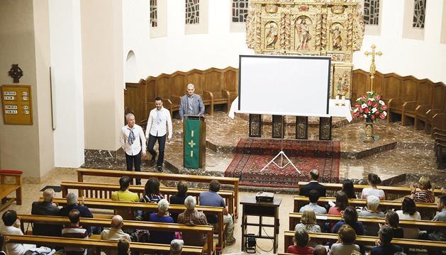 El recital es va celebrar a l'església de sant Esteve.