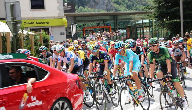 Imatge de la Vuelta d'una edició passada.