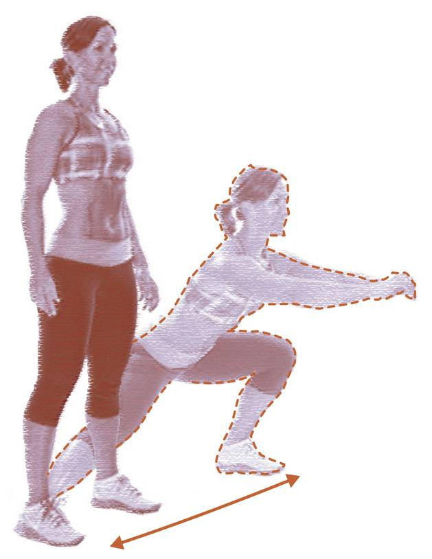 5. Lunge frontal