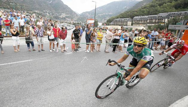 Moment de la Vuelta del 2015 quan va passar pel país.