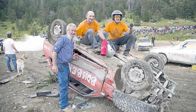 El crash car és una de les festes amb més èxit del país.