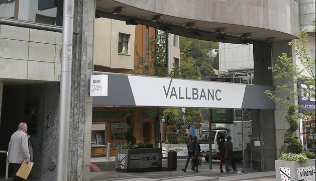Seu de Vall Banc a l'avinguda Carlemany.