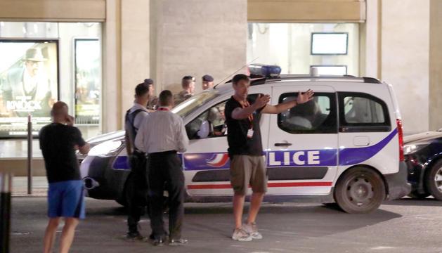 La policia francesa.