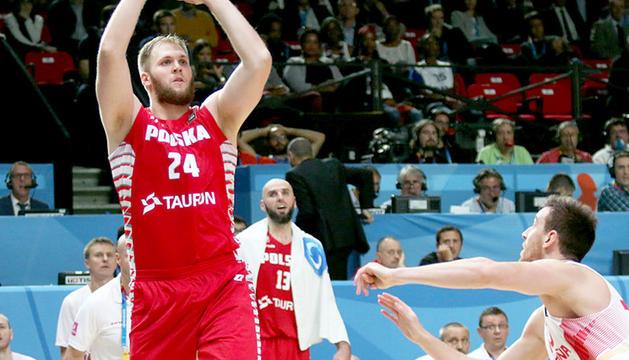 El pivot polonès del MoraBanc Andorra, Przemek Karnowski.